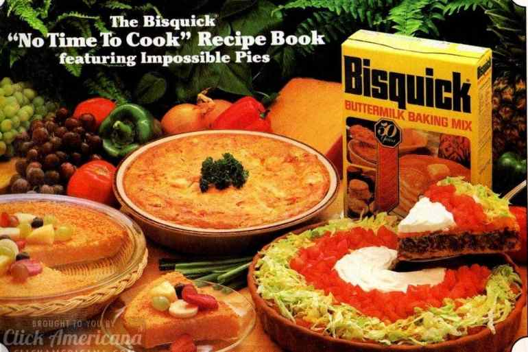 12 ideas from the Impossible Pie recipe booklet (1982)