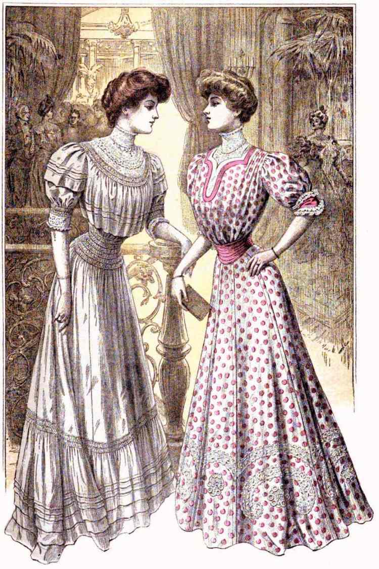 1906 women dresses party pretty
