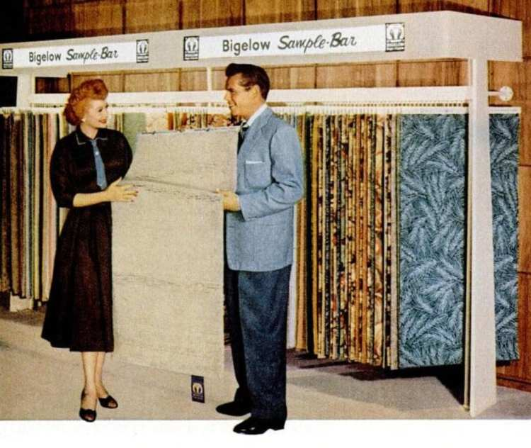 1955 Lucy and Desi for Bigelow carpet (2)