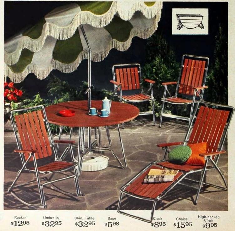 see 60 vintage patio furniture sets