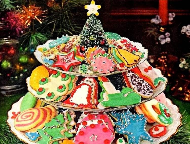 1963 McCormick Christmas cookies