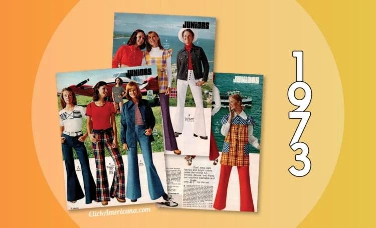 1973 Catalog - Juniors fashion clothing