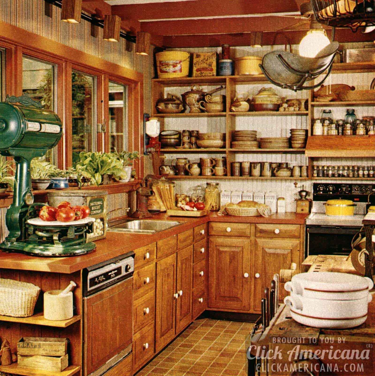 Glorious designer kitchen remodels 1978  Click Americana