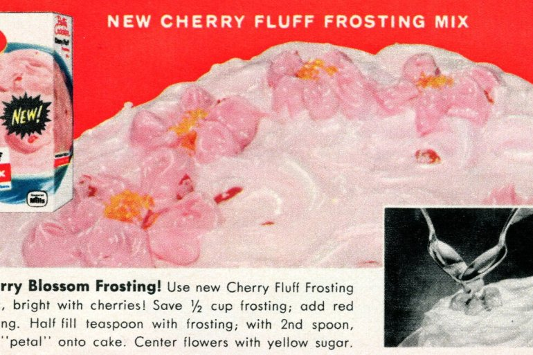 3 fun new ways to frost your cakes - Cherry blossom frosting