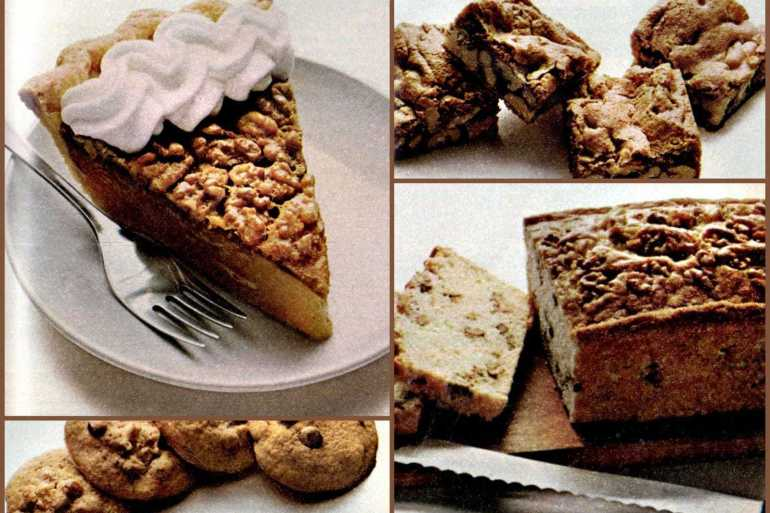 4 wonderful walnut recipes from 1978