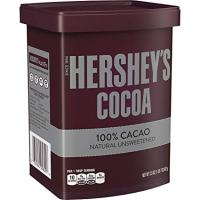 HERSHEY'S Cocoa, 100% Natural Unsweetened Cacao, 23 Ounce Can
