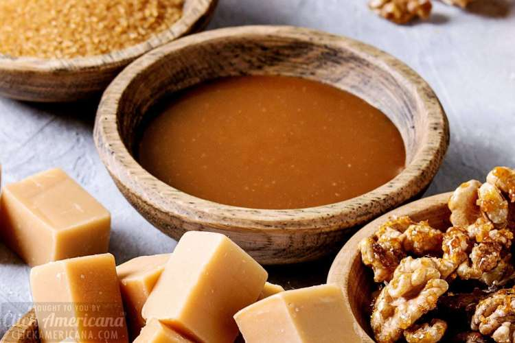 Salted 9 ways to use homemade caramel syrup (1919)fudge