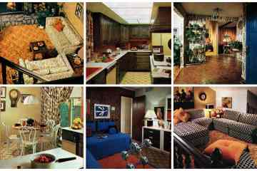 A '70s designer dream house The American Home of 1974