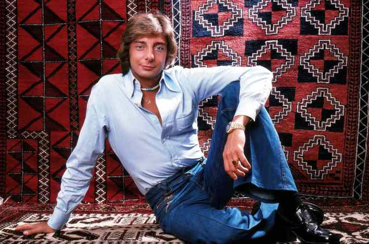 Barry Manilow in 1976