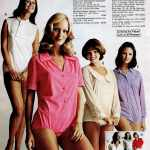 Body suits for women - Retro fashions from 1973 (2)