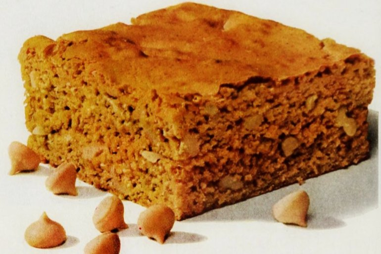 Bonnie butterscotch brownies (1964)