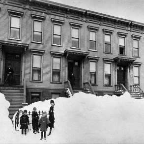 Brooklyn Museum - Blizzard of March 1888, Brooklyn - Breading G. Way