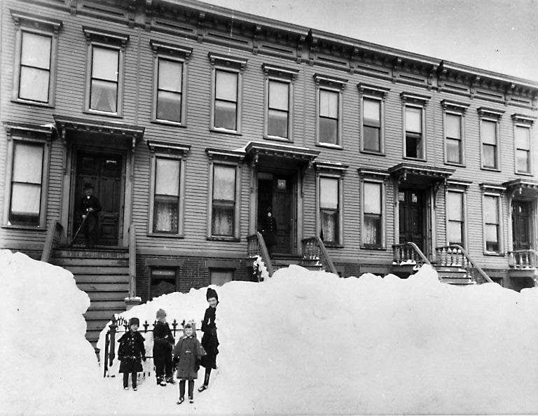 Brooklyn Museum - Blizzard of March 1888, Brooklyn - Breading G. Way