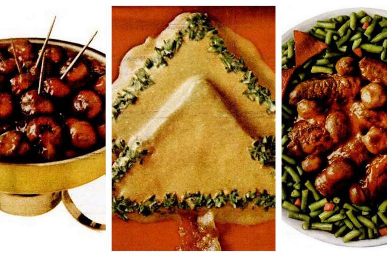 Christmas recipes - Campbell's Santa Sauce recipe (1969)