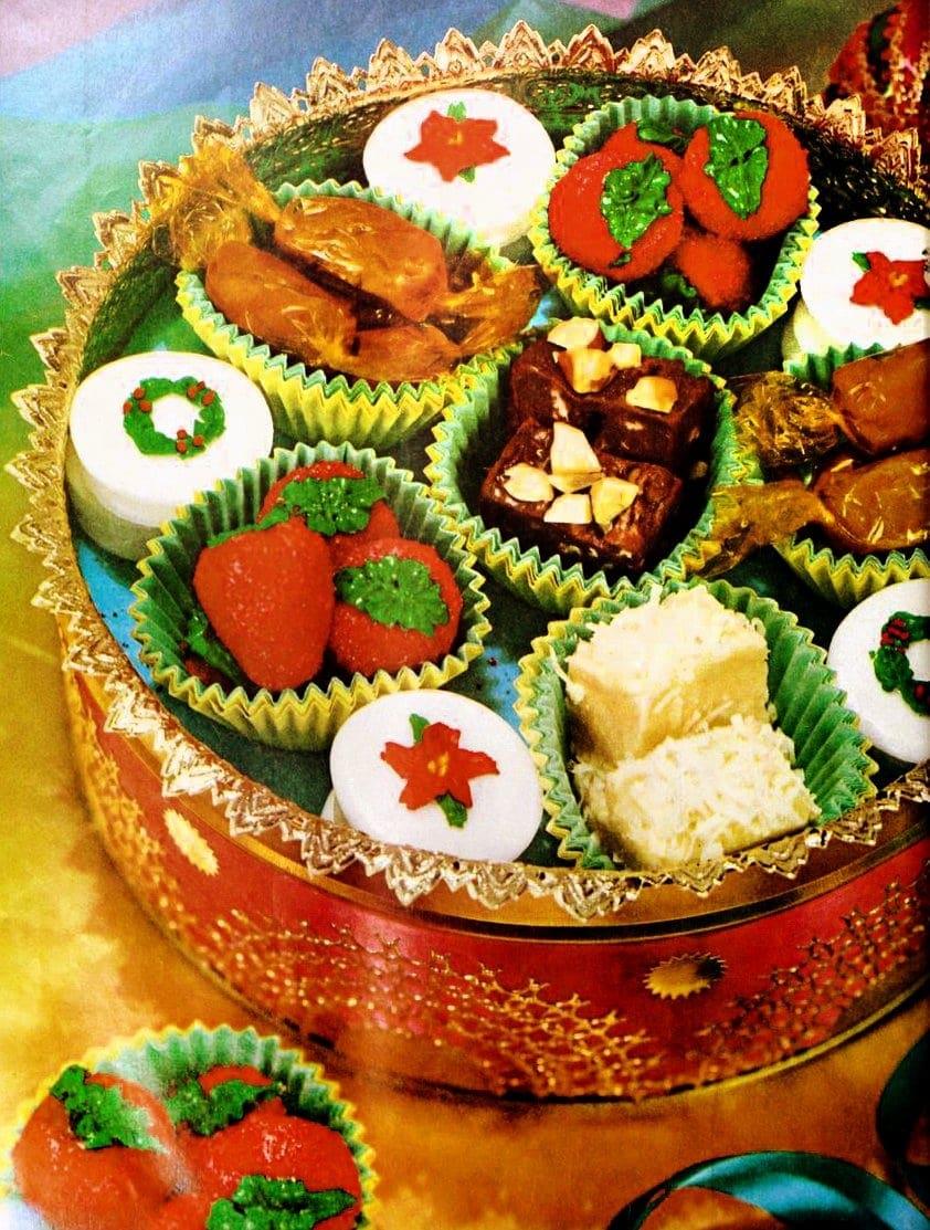 Christmas sweets: Homemade candy & fudge recipes (1960) - Click ...