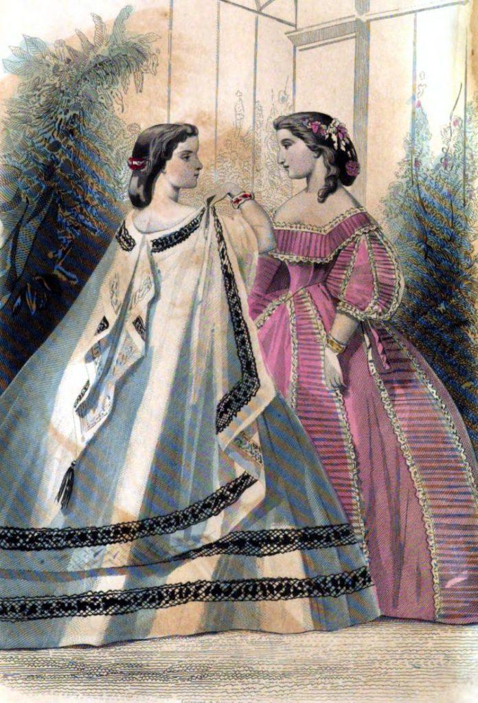Why Long Hair Was A Burden To Civil War Era Women 1862 Click Americana