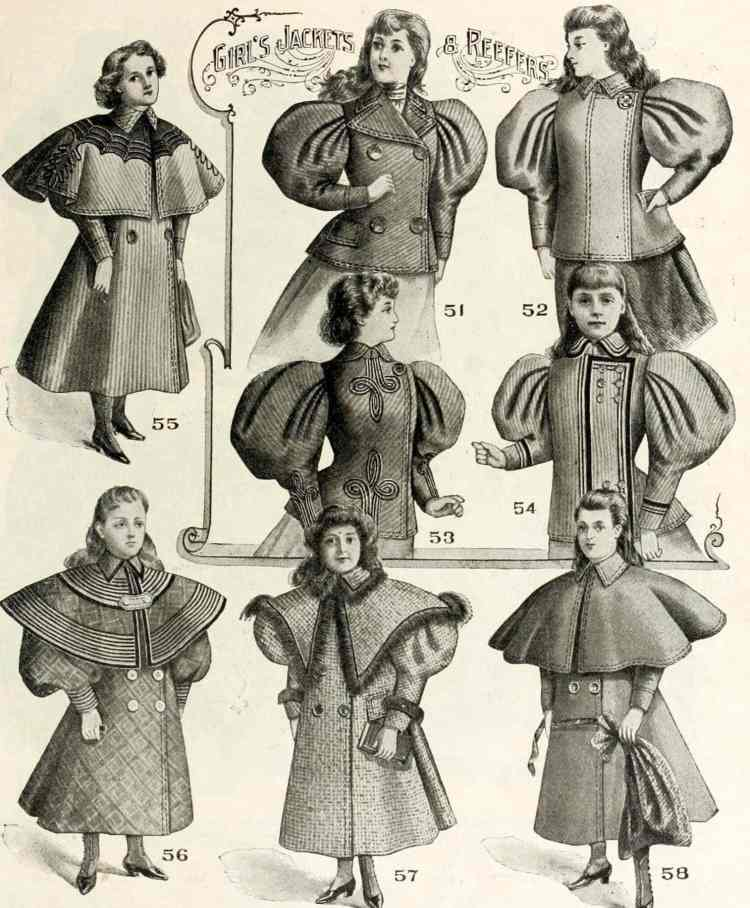 Clothes for kids from Wanamakers - 1896 (3)