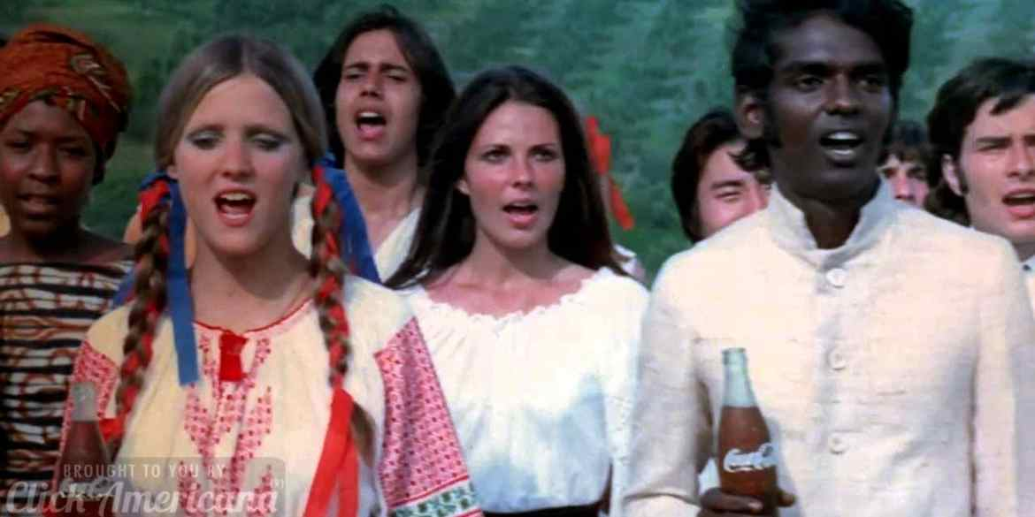 Coca Cola - Hilltop - I'd like to buy the world a Coke 1971