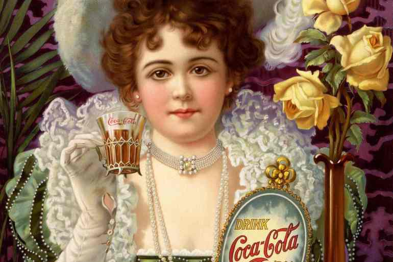 Coca cola drink with cocaine -1901