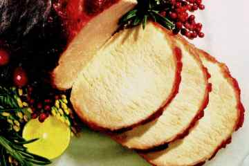Cranberry-glazed pork roast (1993)