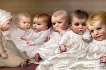 Cute vintage babies