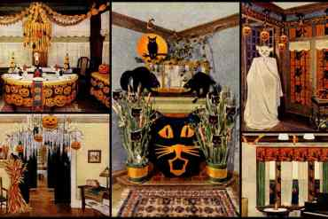 DIY Halloween decorations on a budget Fiendishly clever ideas from the days before party supply stores (1919)