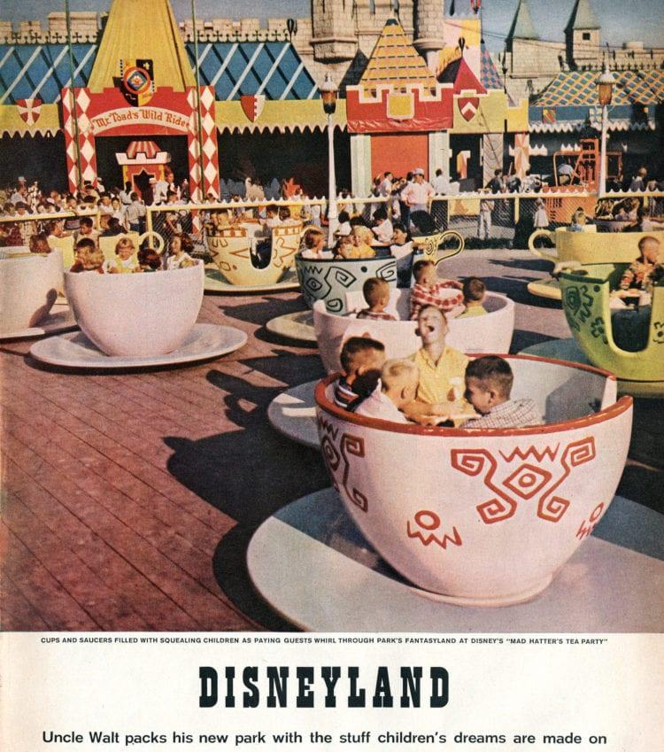 Disneyland opens - Walt Disney's magical new theme park in Southern California 1955 (1)