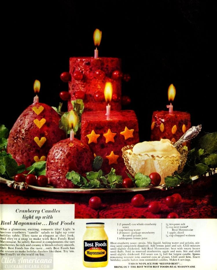 Edible cranberry candle salads with mayo at Click Americana (1)