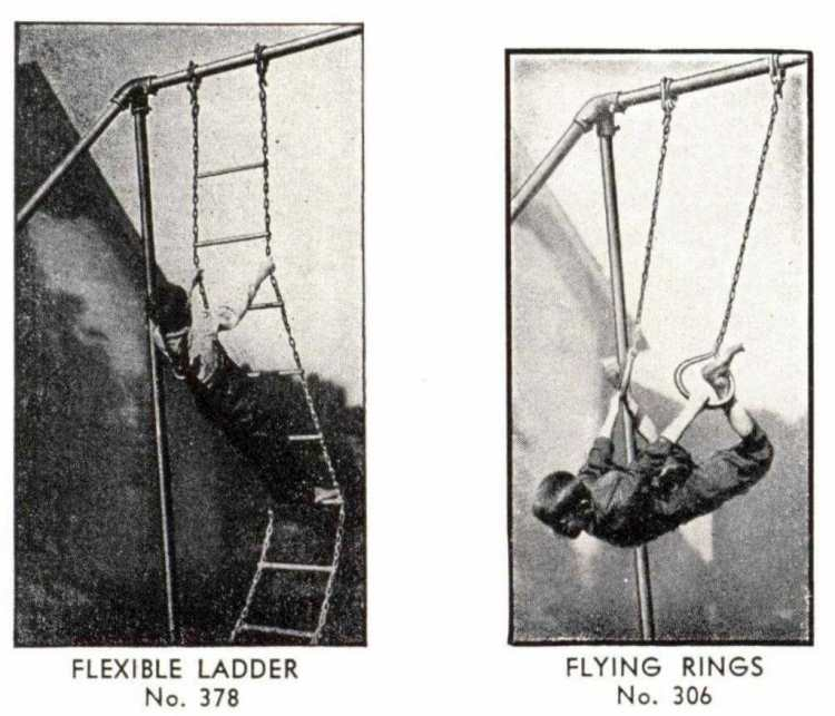 From 1940 - old playground heavy-duty outdoor gymnasium (3)