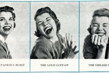 From the 1950s How to laugh, just for girls
