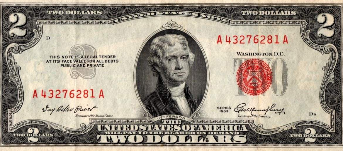 The $2 bill making a comeback (1964)