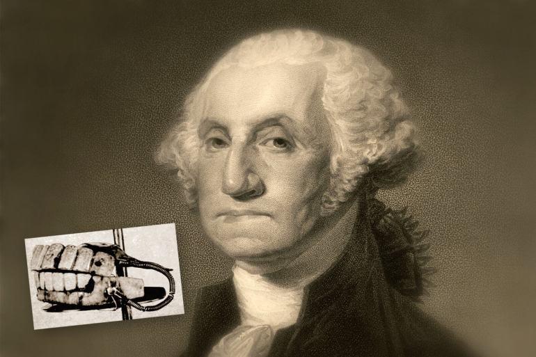 George Washington - false teeth-dentures