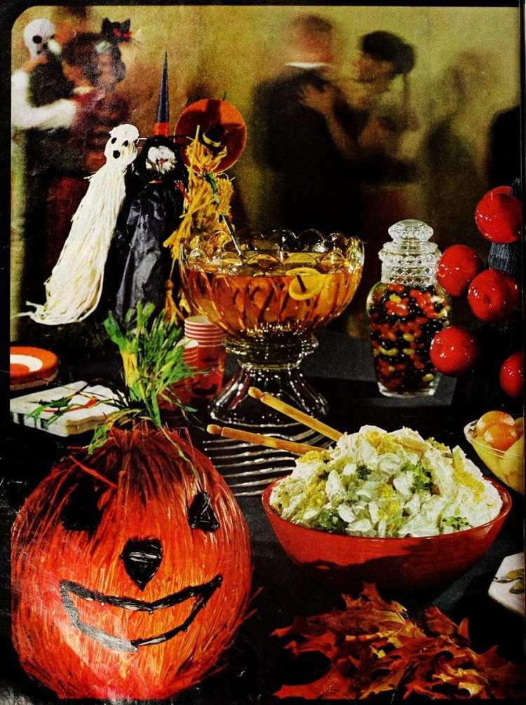 Halloween party ideas from 1963