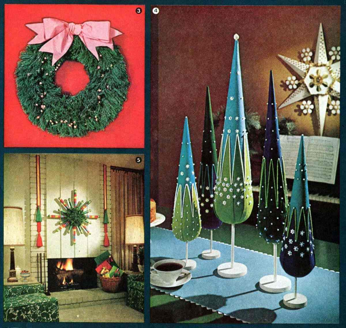 Have a crafty Christmas! Retro holiday decor you can make with ideas from the '60s