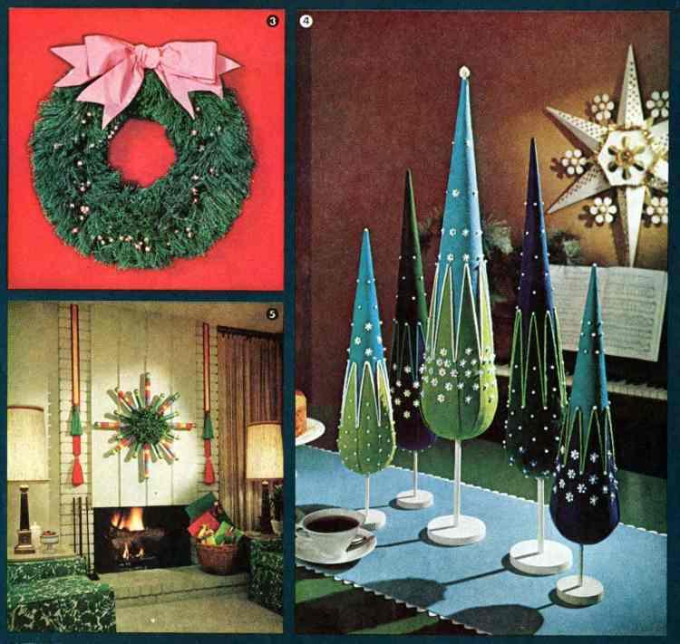 Retro Christmas Decorations Ideas: Have A Crafty Christmas! Retro Holiday Decor You Can Make