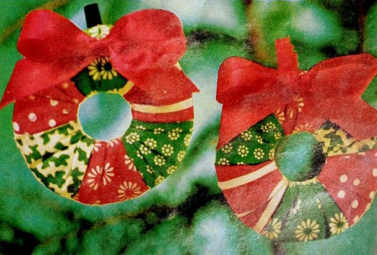 How to sew cute Christmas tree ornaments (2)