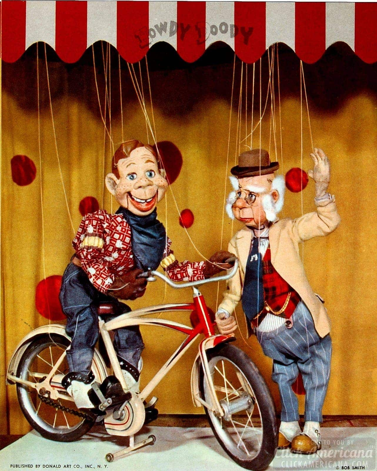With Millions Of TV Fans Howdy Doody Branching Out Into Comics 1950