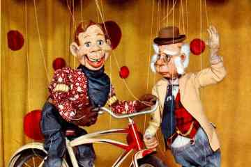 Howdy Doody color TV promo