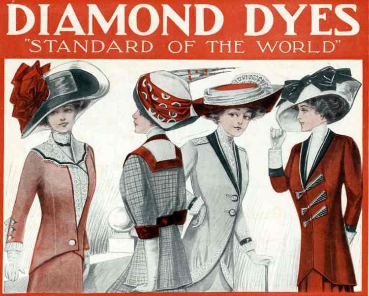 LHJ 1910 fashion beauty women hats