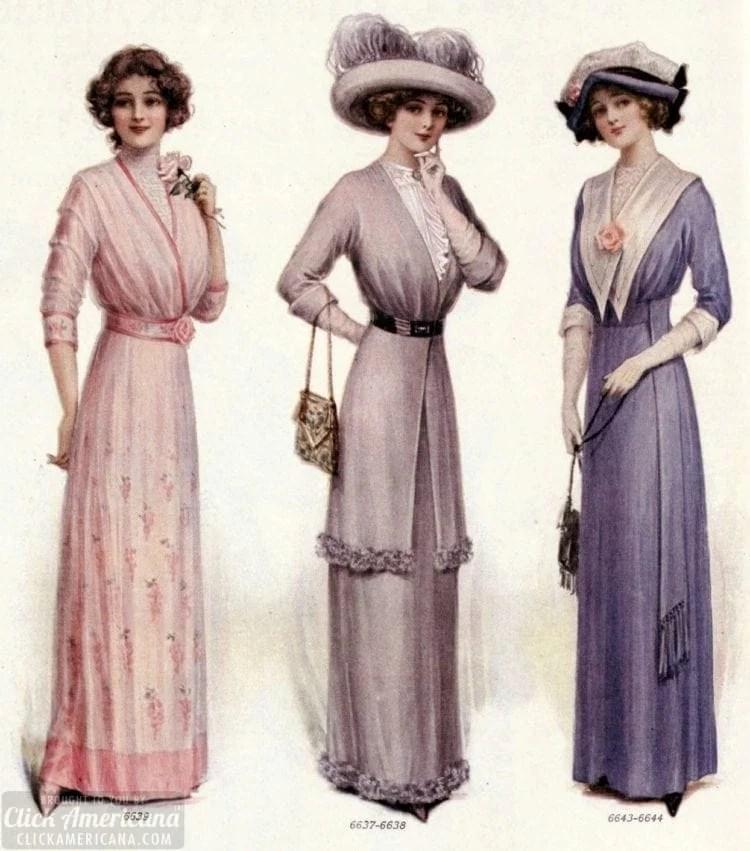 LHJ women fashion beauty 1912 Actress
