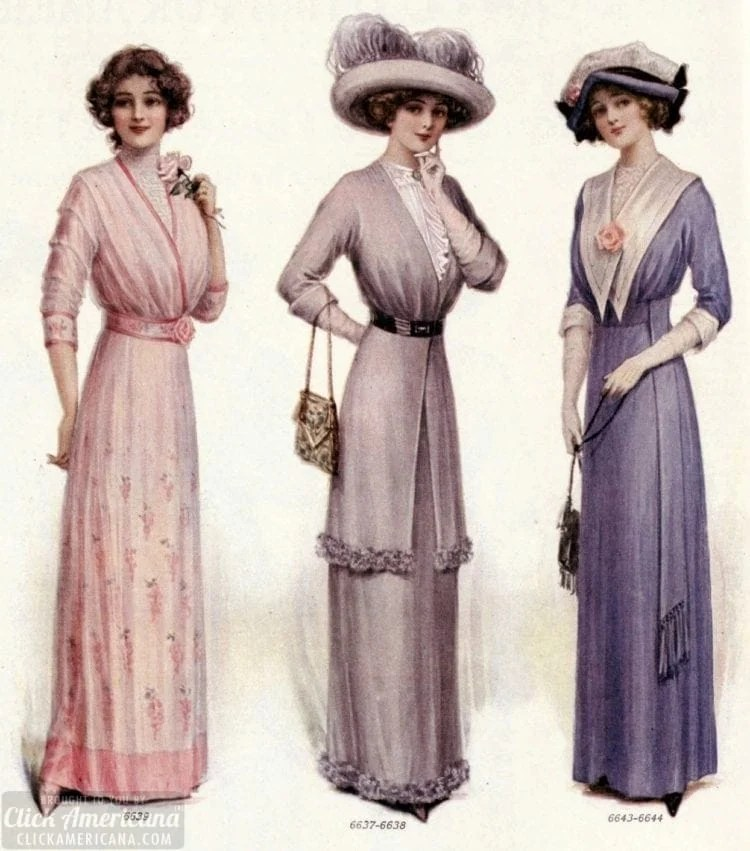 adce570a9fe What a man likes in a woman s clothing (1912) - Click Americana