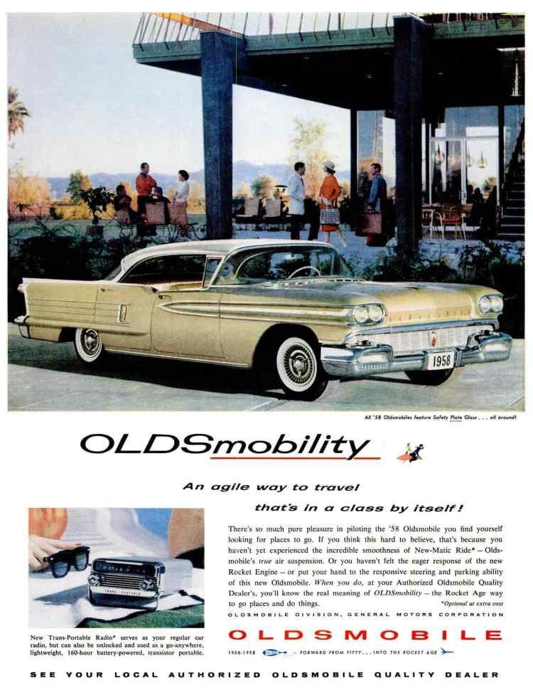 LIFE Feb 24, 1958 oldsmobile cars