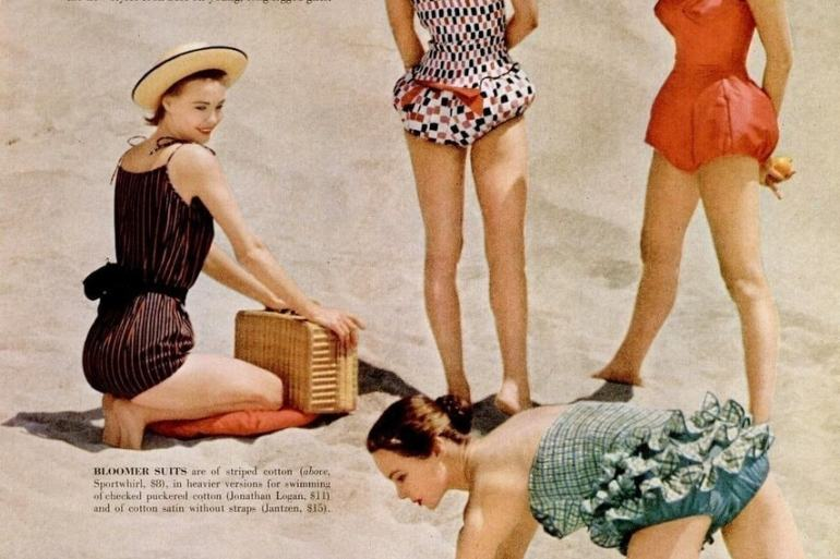 1955 swimwear