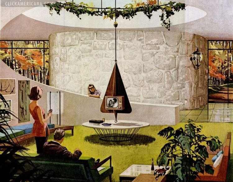 Space Age Amazing Retro Futuristic Homes Of The 60s Click Americana - Futuristic-house-with-space-age-design