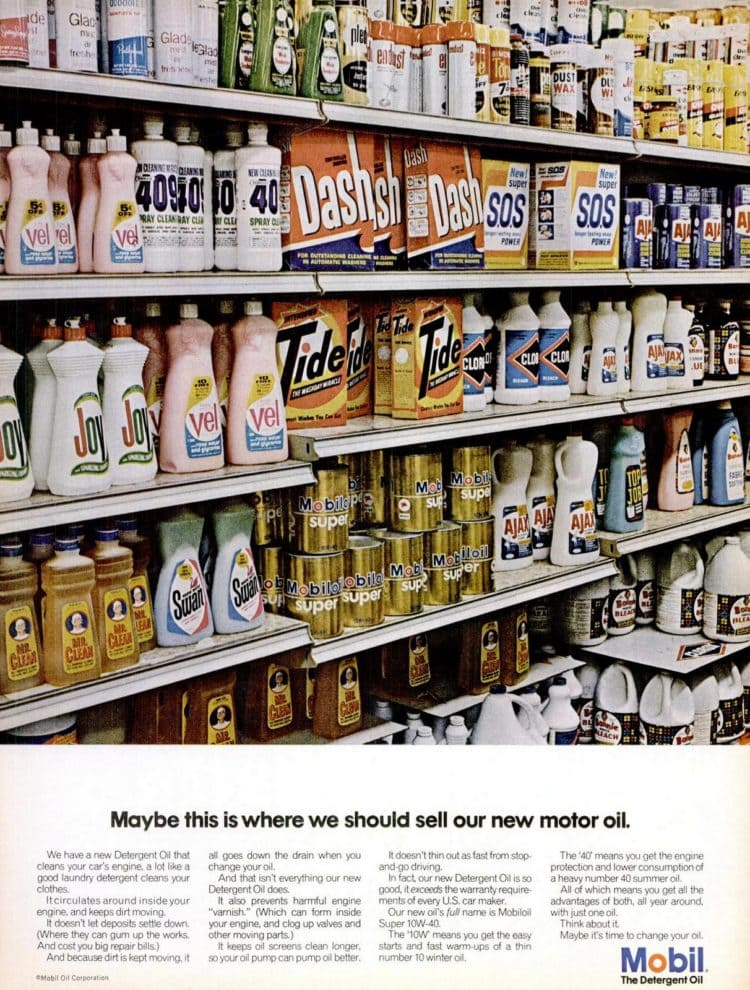 LIFE Oct 6, 1967 Grocery store