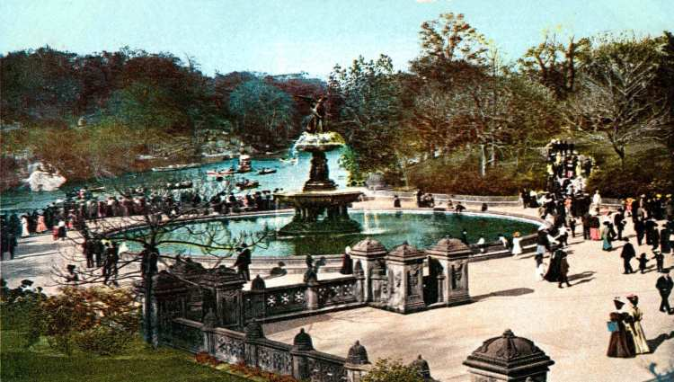Lake and Terrace, Central Park, New York 1905