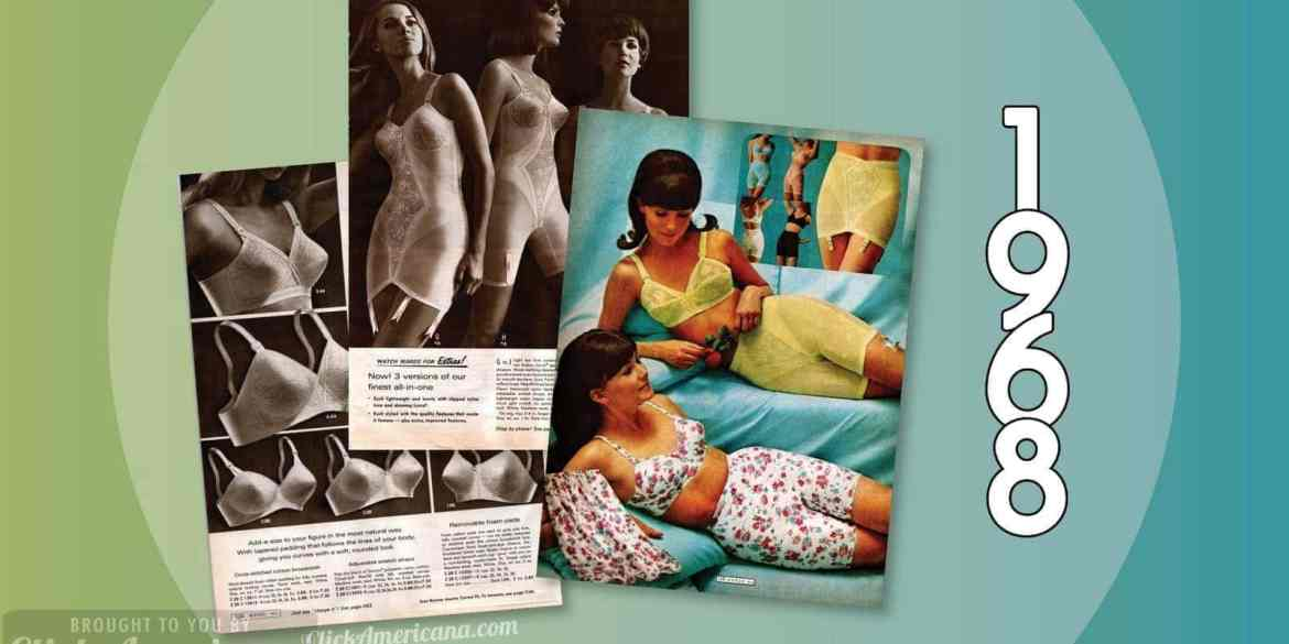 Lingerie, pantyhose, girdles, garters & more from the 1968 Wards catalog