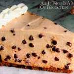 Mocha chocolate chip cheesecake recipe