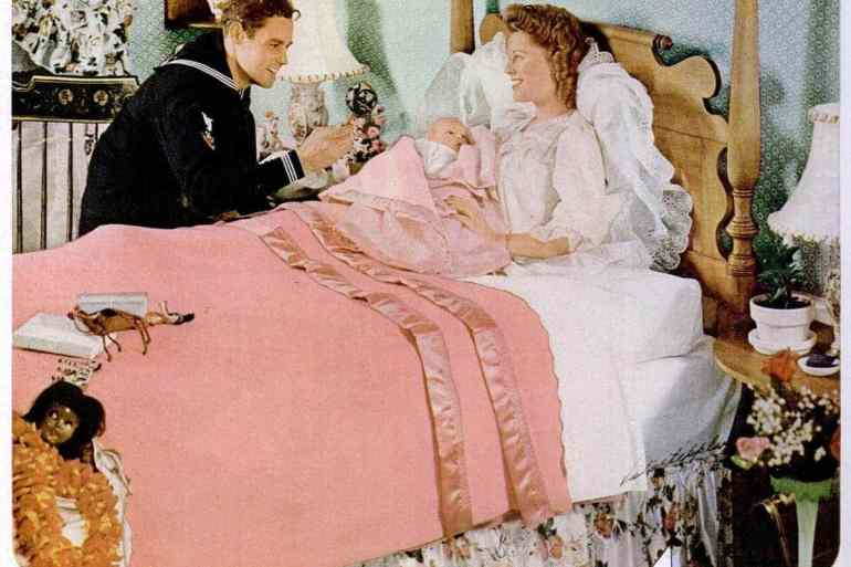 Oct 22, 1945 new baby