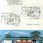 Original vintage exteriors and floor plans for American houses built in 1958 - at Click Americana (21)